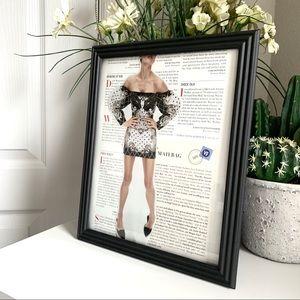 High Fashion Handmade 8x10 Fashion Collage